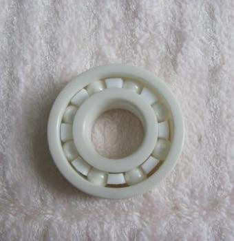 5pcs/lot  697 ZrO2 full Ceramic bearing 7x17x5 mm Zirconia Ceramic deep groove ball bearings   7x17x5