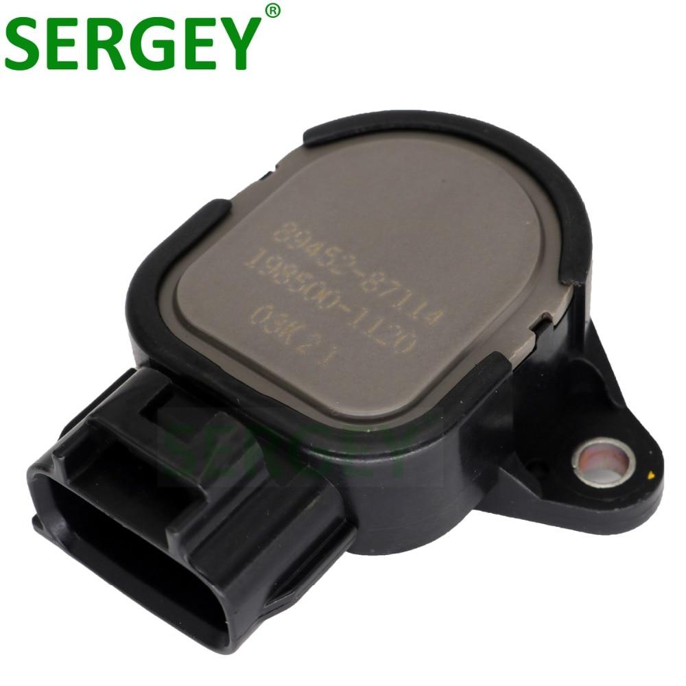 TPS for TOYOTA DUET CAMI DAIHATSU OE 89452-87114 New Throttle Position Sensor