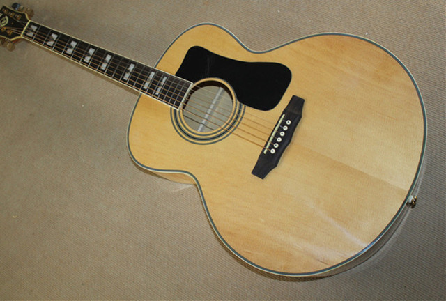 Factory Custom Natural Wood Color G 43 Inch Acoustic Guitar With