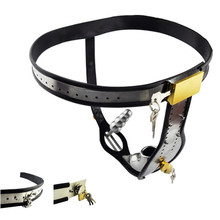 New Stainless Steel Male Underwear Chastity Belt With Removable Anal Plug Cock Cage Fully Adjustable Chastity Device Penis Lock