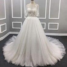 HIRE LNYER Vestido De Casamento Backless Wedding Dresses