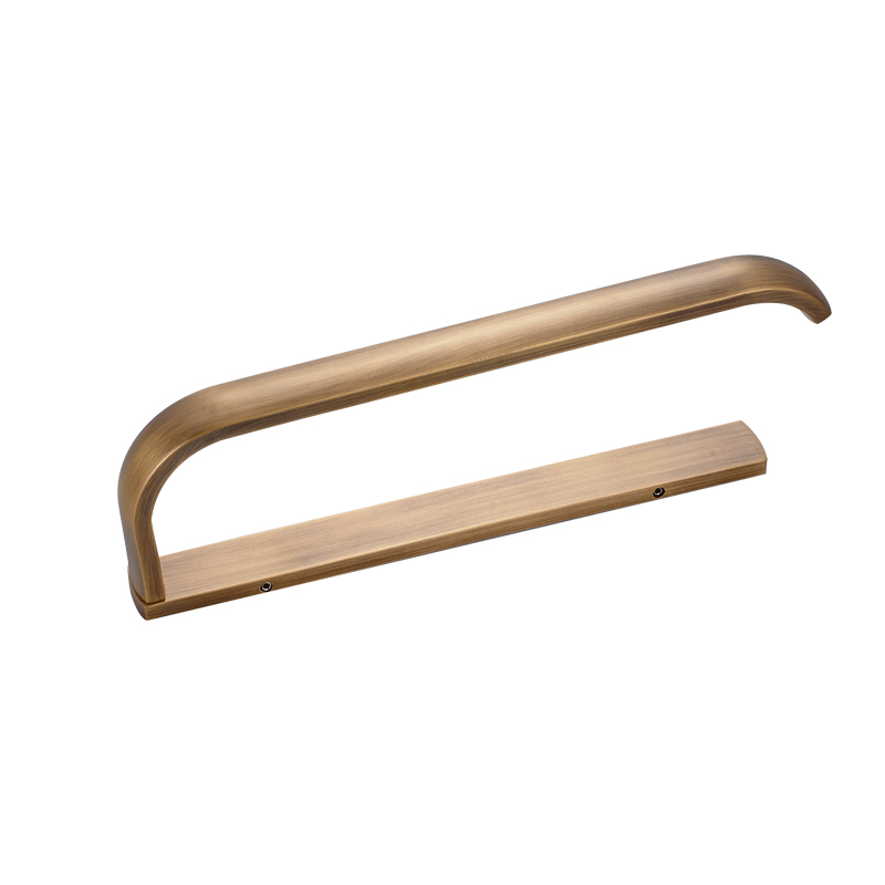 MADICA 105*5*32cm Single Towel Bars For Shower Room Towel Rack Vintage Brass Toallero Metal Nail Bronze Towel Rack Hanger