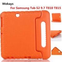 For Samsung Galaxy Tab S2 S 2 9 7 SM T810 T815 Gomma EVA Foam Shockproof