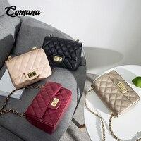 CGmana классические кожаные сумки для женщин дизайнер 2018 сумки через плечо для девочек леди Sac основной Femme известных брендов H