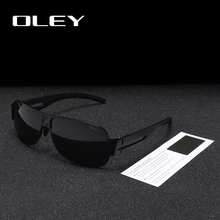 OLEY Classic Brand Polarized Sunglasses Men Fashion Pilot Goggles Driv