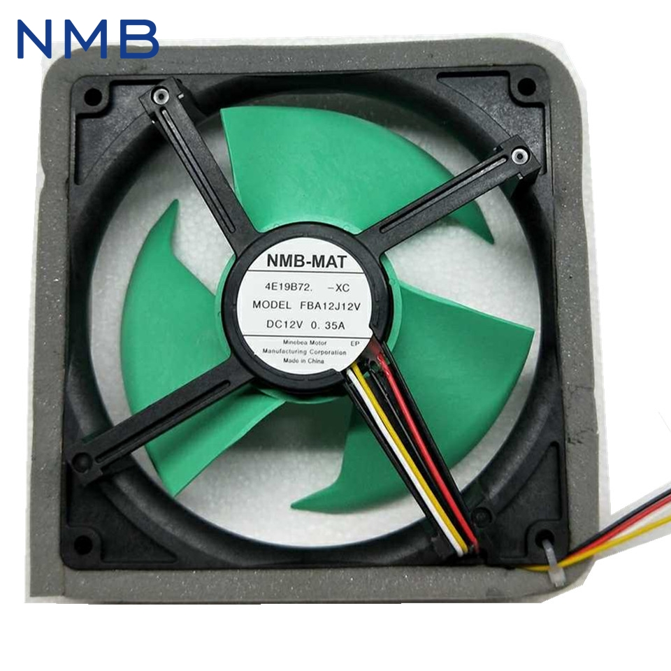 1pcs Refrigerator Fan MODEL FBA12J12V DC 12V 0.35A