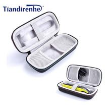 Estuche portátil protectora para afeitadora Philips OneBlade, bolsa de viaje EVA, bolsa de almacenamiento, bolsa con cremallera con forro