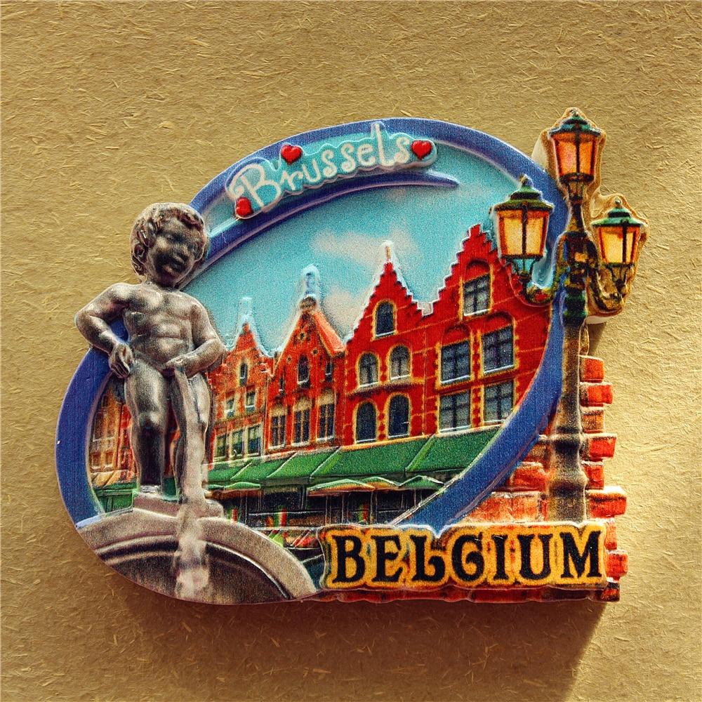 Belgium Grand Place Brussels, Manneken Pis, Tourist Travel