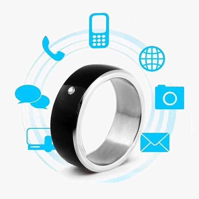 Bague intelligente multifonctionnelle NFC pour tous les doigts de technologie Android