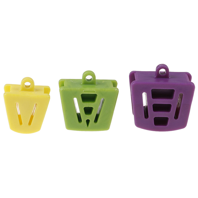 3 Pcs Dental Silicone Mouth Prop Bite Block Rubber Opener Retractor Latex Teeth Whitening Care Tool  Dentist Material