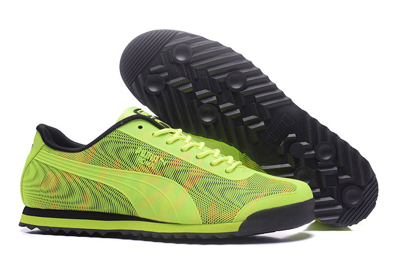 New Arrival  PUMA Roma TK Graphic 520 Mens shoes Breathable Sneakers Badminton Shoes size40-45