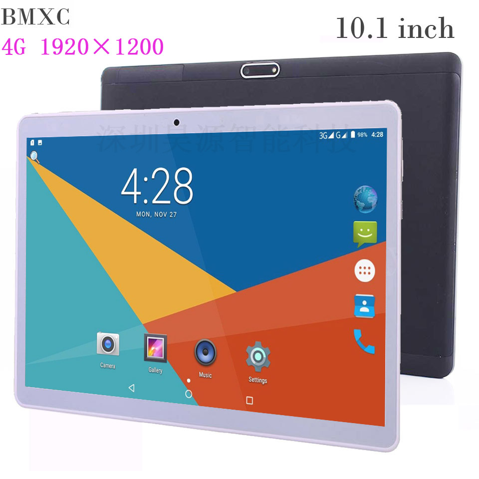 10.1 pouce tablette pc appel téléphonique tablette 4G android tablettes 10 enfants tablette tablette android sim carte 1920 * 1200 appelant GPS wifi bluetooth