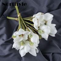 Northyle FS125227 Artificial Kapok Flowers Bouquet For Home Decoration Wedding Decoration Fake Flower Bride Bouquet
