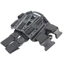 Тактический CQC пистолет кобура для охоты Пистолет Аксессуары набедренная платформа весло для Gl 17 HK USP компактный M9