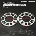 2PCS 5 MM ALLOY ALUMINUM WHEEL SPACERS SHIMS PLATE 4&5 STUD FIT FOR UNIVERSAL CAR FREE SHIPPING Car-Styling