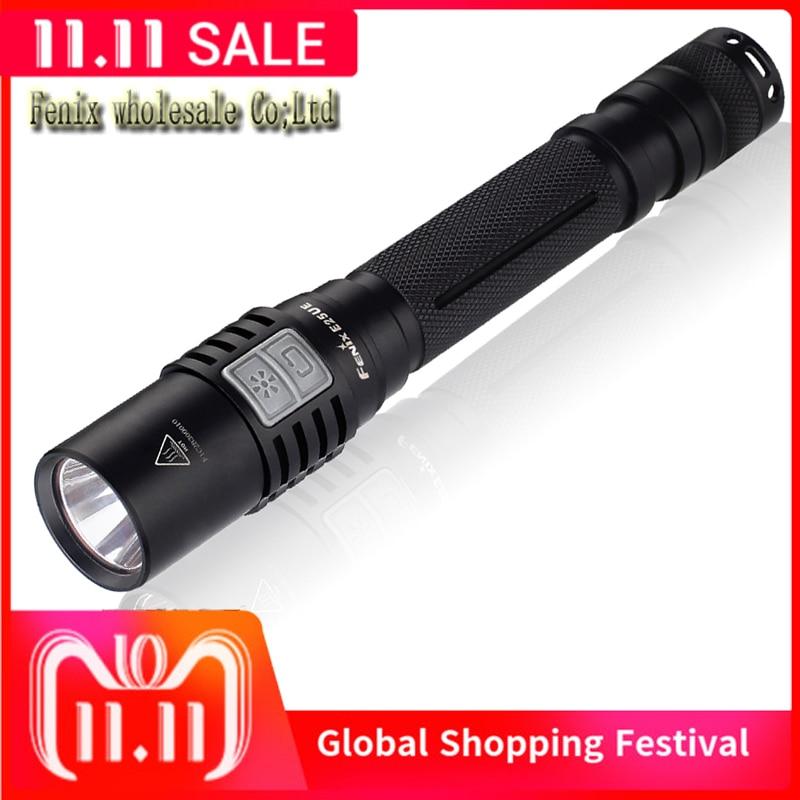 2015 NEW Fenix E25 UE Cree XP L LED 1000 Lumens E25 Ultimate Edition two 14500