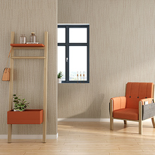 New Solid Modern minimalist white plain bedroom living room non-woven grey home wall papers light gray linen Nordic wallpaper