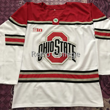 fd0f033f6 Ohio State Buckeyes MEN S Hockey Jersey Embroidery Stitched Customize any  number and name(China)