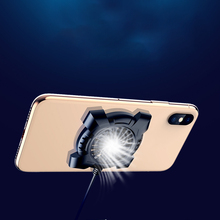 Fixed Mute Stand Holder Lightweight Stable Small Fan Phone Cooler ABS Universal Suction Cup Portable Heat Sink Drop Temperature