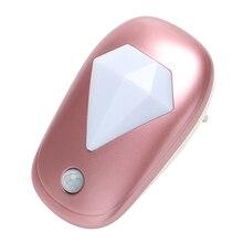 Itimo алмазный свет в ночь + светло Сенсор для детских Спальня прихожей лампа дома Освещение ЕС Plug яркий