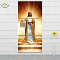 833d2d60d Wall Art HD Prints Canvas Art Painting Modular Picture And Poster Canvas  Painting Shining Jesus Image