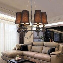 Żyrandol Nordic neo klasyczny kreatywny sufitowy żyrandol artystyczny nowoczesny salon jadalnia lampy hotelowe opłata pocztowa za darmo