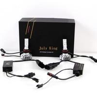 July King 5500K 9005 HB3 9006 HB4 9012 HIR2 35W 5600LM LED Headlight Kit Conversion Canbus Bulb IP68 Auto Fog Lamp Light Bulb