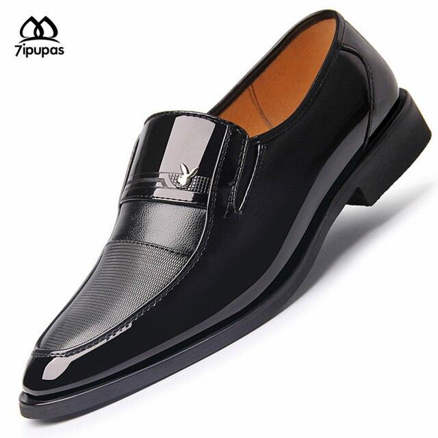 2016 Новый Бренд Лоскутные квартиры slip-on мужская оксфорды бизнес обувь мужчины платье случайные geniune кожаные оксфорды классический мужской сапоги