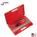 Jetech 39 в 1 1/4 DR метрическая torx торцевых ключей набор инструментов автомобильный комплект инструменты дело box для авто ремонт открытие инструменты пожизненную гарантию