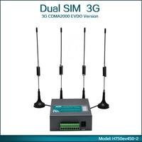3G CDMA2000 EVDO/CDMA1x 450Mhz ağ 3G yönlendirici (Model: H750ev450-2)