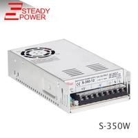 Interrupteur D'alimentation 350 w 5 v 50a/12 v 29a 30a/24 v 15a/48 v 7a SMPS AC à DC meanwell style led alimentation