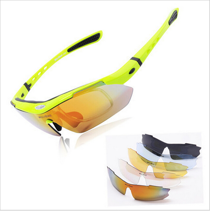 Polarized Cycling Glasses Bike Outdoor Sports Bicycle Sunglasses Goggles 5 Group