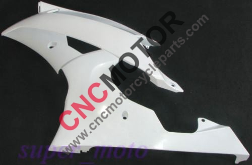 ФОТО For Yamaha YZF R6 2008-2012 09 10 11 Left side panel clutch side fairing unpainted