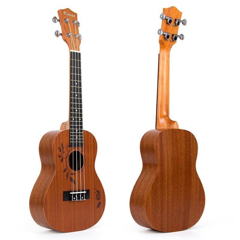 Kmise Ukulele Concert Ukelele Uke 23 inch 18 Frets 4 String Acoustic Hawai Guitar
