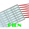 12V 100cm 72led SMD 2835 Led Rigid Bar light Strip light Cool|Warm White Aluminum Wholesale by DHL 30pcs