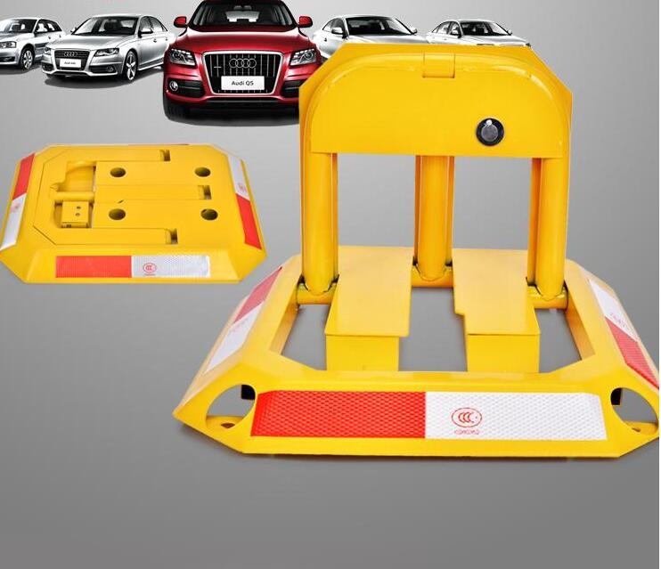 Car Parking Blocker, Car Parking Barrier, Manual Parking Lock Bollard Post