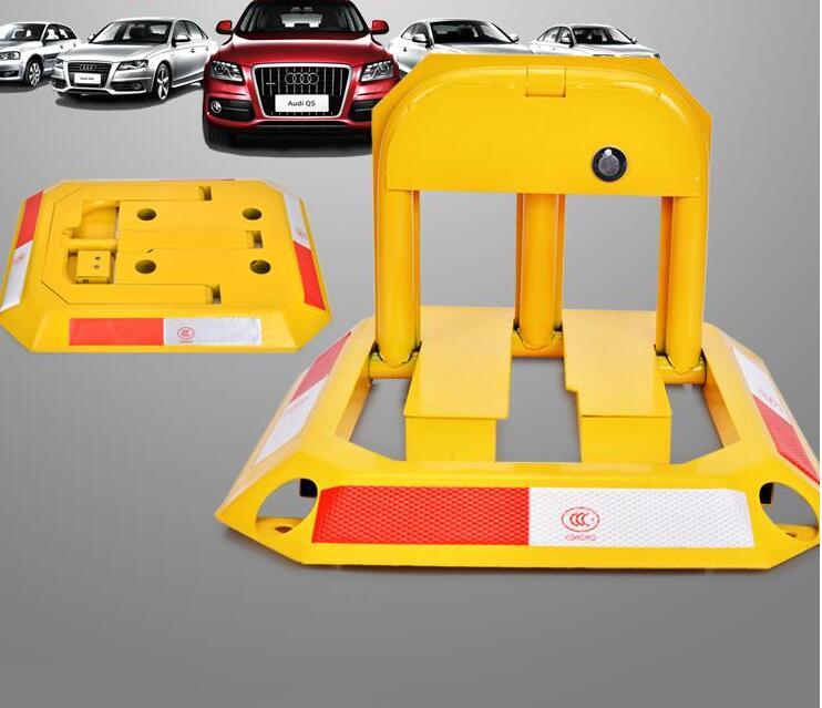 Car Parking Blocker, Car Parking Barrier, Manual Parking Lock Bollard Post