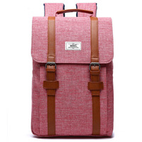 2017 Vintage Men Women Canvas Backpacks School Bags For Teenagers Boys Girls Large Capacity Laptop Backpack
