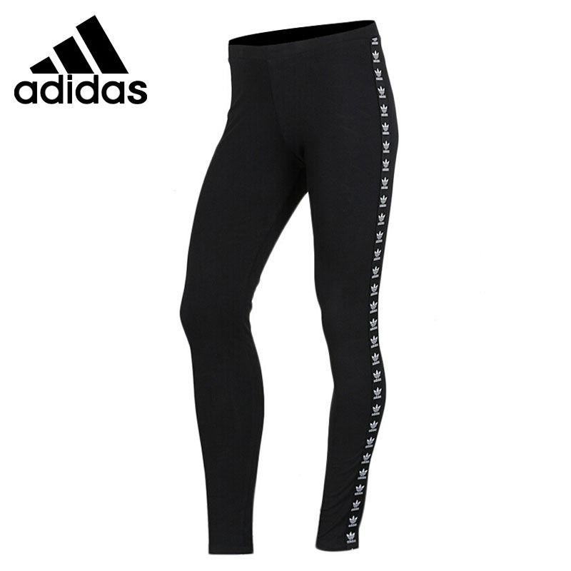 Original New Arrival 2018 Adidas Originals TRF TIGHT Women's Tight Pants Sportswear original new arrival official adidas women s tight elastic training black pants sportswear