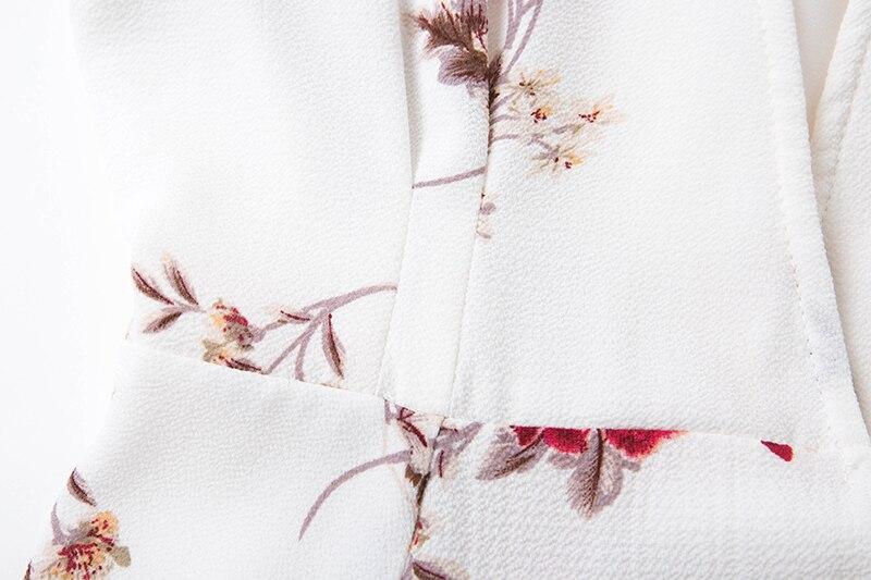 BONGOR LUSS Women Summer Dress 2017 V-Neck Cape Short Sleeve Casual Mini Dress Boho Beach Vinatge Floral Print Dress Sundress (4)