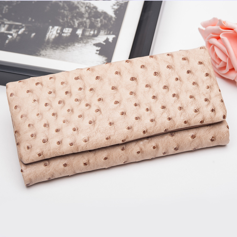 Genuine Real Leather Women Female Fashion Long Wallet And Purse Ladies Clutch Bag Plastic Credit Card Case Holder Money Bag tuokayisi brand luxury genuine leather women wallet female purse weave credit card holder gold clutch phone holders money bag