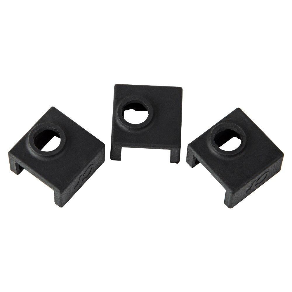 MK7 MK8 MK9 Silicone Heating Heat Block Sock Case Cover For 3D Printer coffee TW