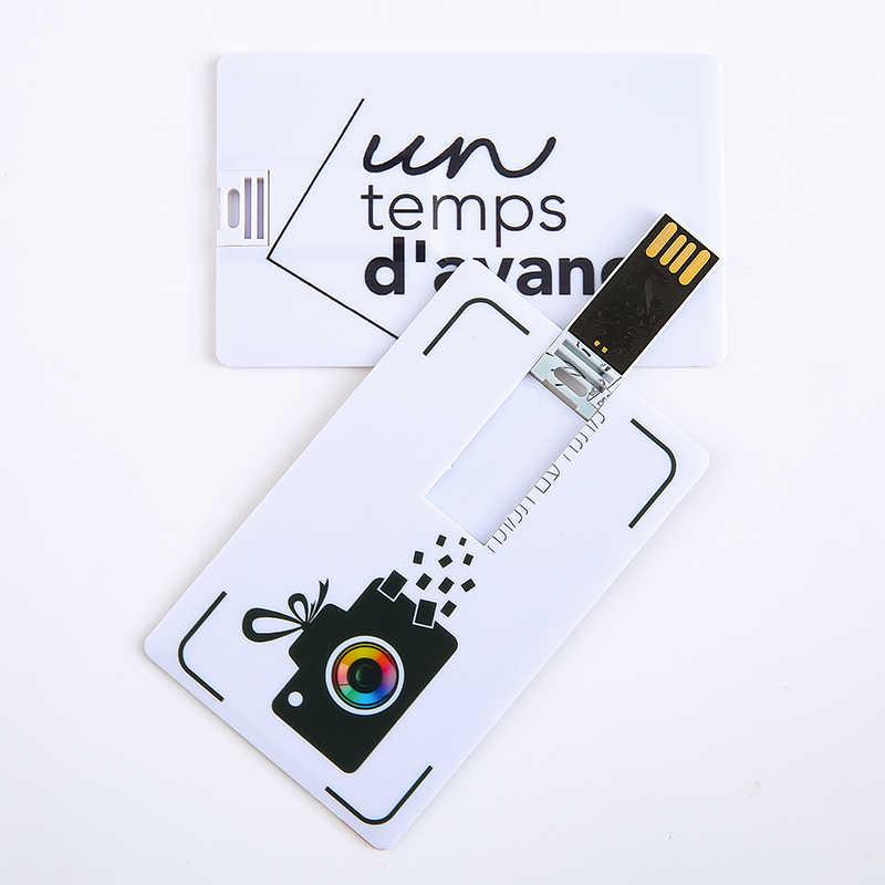 Sobre 10 pcs Livre Foto logotipo Personalizado Pen Drive Flash 4GB GB GB 32 16 8GB 64GB Memory Stick Personalizado Negócio de Fotografia de Casamento