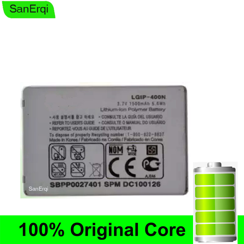 LGIP-400N <font><b>Battery</b></font> for <font><b>LG</b></font> OPTIMUS VM670 LS670 MS690 P500 P509 P503 P520 M/C/U/V/T/S/1 High Quality SanErqi image