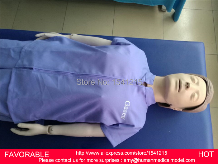 ADULT FULL BODY ELECTRONIC CPR CARDIOPULMONARY MODEL,MEDICAL MANIKIN AND ADVANCED AUTOMATIC CPR TRAINING MANIKIN-GASEN-CPRM0005 bix h2400 advanced full function nursing training manikin with blood pressure measure w194