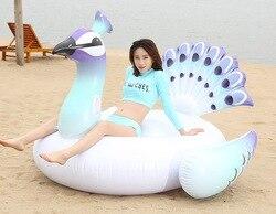 60 Polegada 1.5 m gigante passeio-na piscina inflável colchão piscina float festa de férias água diversão brinquedos ilhas boias piscina