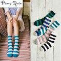 5 pairs/Lot  Brand Cotton Colorful Socks Female's Meias, winter warm school Casual Socks Women striped socks harajuku cheap