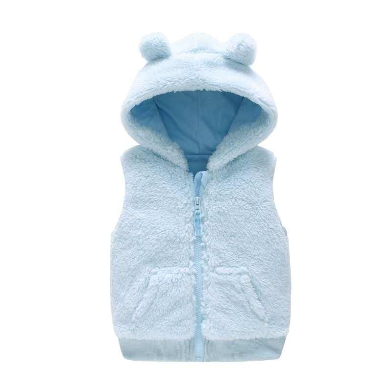 a14d90b8c2d75 Vlinder Baby clothes winter vest Newborn baby girl boy hooded vest Baby  Cotton Snug waistcoat 0