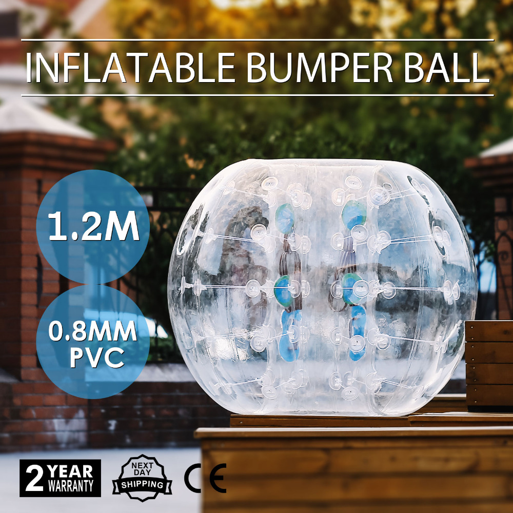 Popsport Inflatable Bumper Ball 4FT Bubble Soccer Ball 0.8mm Eco-Friendly PVC Zorb Ball Human Hamster Ball for Adults and Kids popsport inflatable bumper ball 4ft bubble soccer ball 0 8mm eco friendly pvc zorb ball human hamster ball for adults and kids