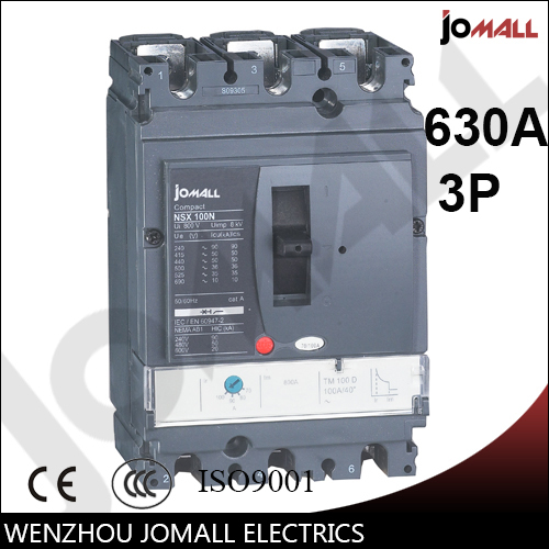 630a 3 p new type Moulded Case Circuit Breaker mccb 400a 4p nsx new type mccb moulded case circuit breaker